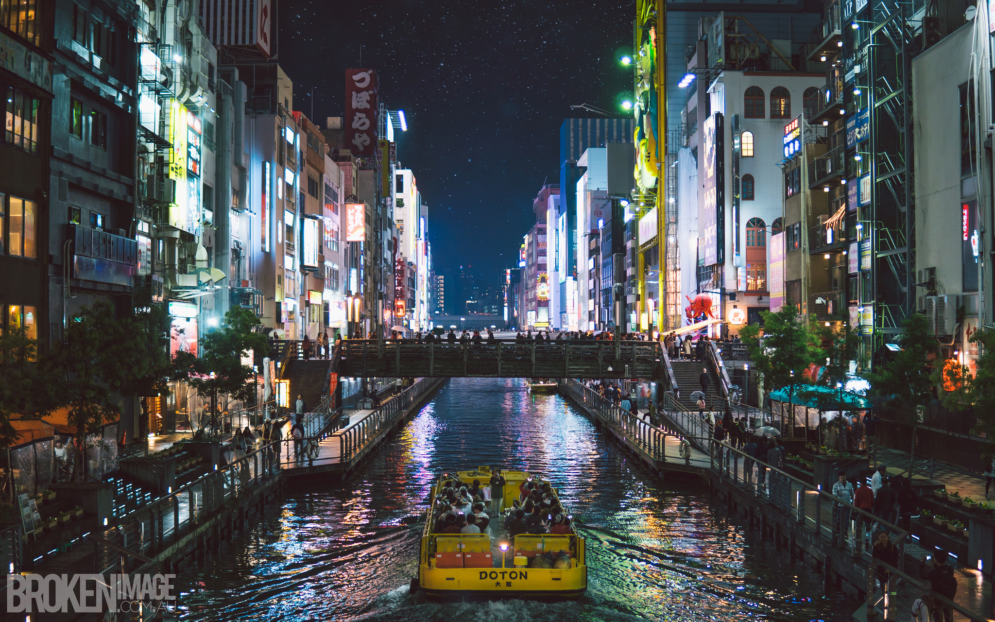 Dōtonbori Magic, Osaka