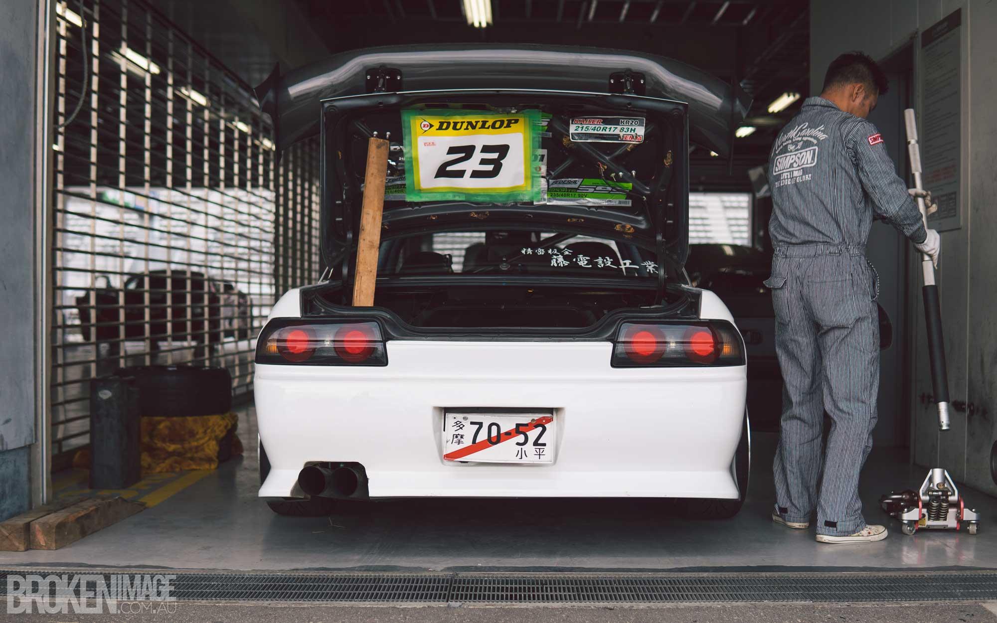 R32 Skyline at Fuji Speedway