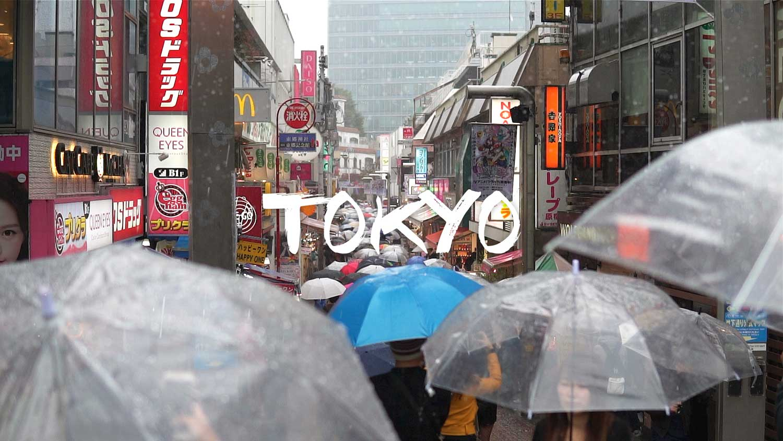 Rain – Tokyo – 50 Seconds | A6500 Handheld + Sigma 30mm 1.4